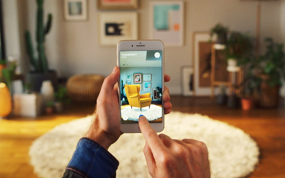 Web AR Marketing with Ikea