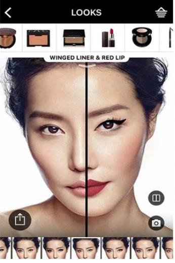 Sephora AR in retail